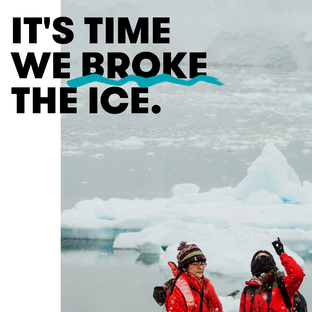 It's time we broke the ice - 18 Cold Hard Facts - The real barriers for womxn in STEMM